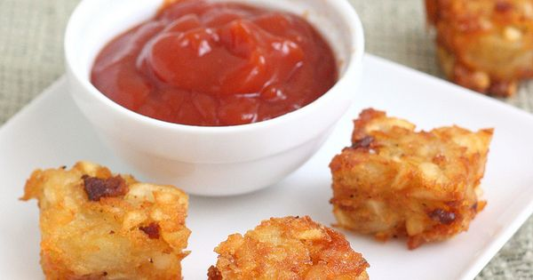 Bacon-Ranch Tater Tots - cataloged as ham appetizer