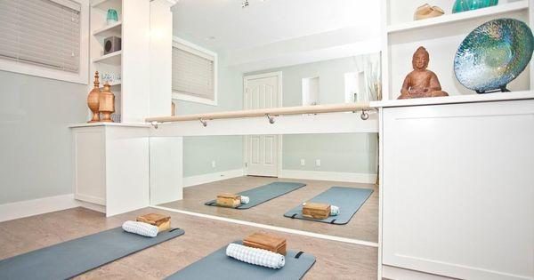 Basement Yoga Studio Design - Best Basement Design 2017