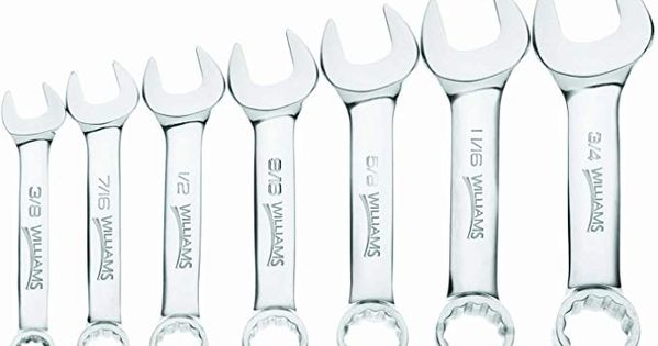 Williams 11030 7 Piece Stubby Combination Wrench Set Review Wrench Set Wrench Sets Wrench