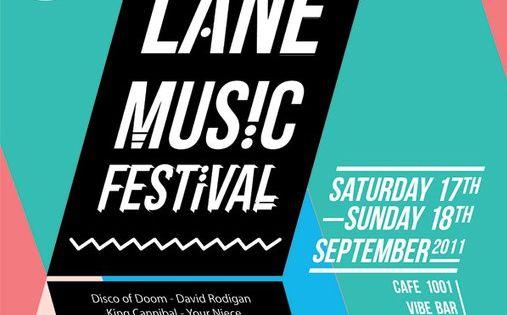 Brick Lane Music Festival Poster