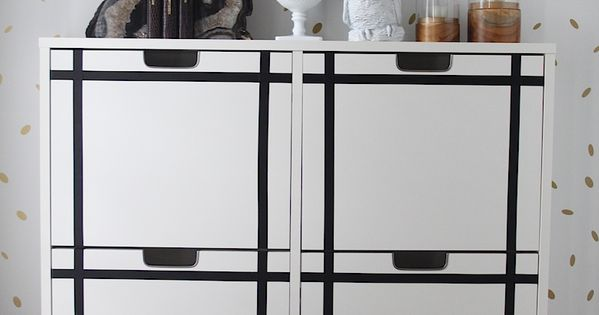 Entryway makeover and an ikea stall shoe cabinet and black for Ikea stall shoe rack