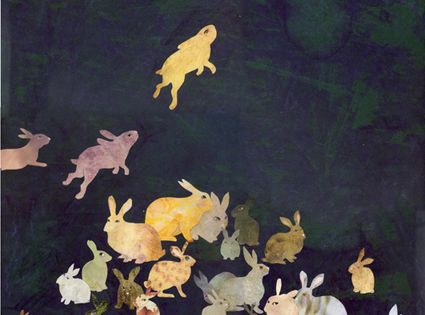 Lapins ~ artist Karine Daisay art illustration