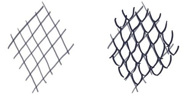 Dragon Scale Construction Lines And Sketching Type 2 Dragon Drawing Scale Drawing Snake Drawing