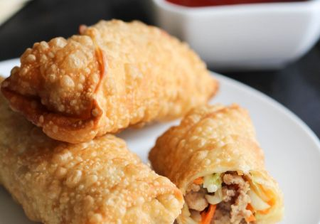 Easy Homemade Egg Rolls. These taste just like they do in a