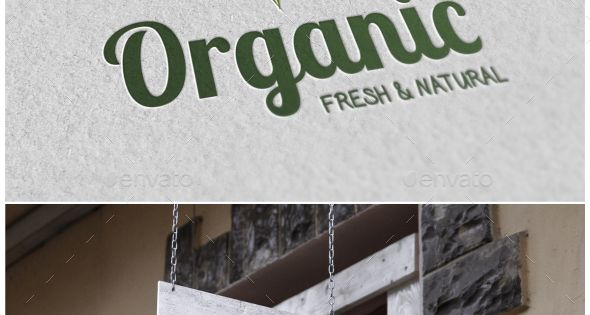 Organic Logo – Nature Logo Templates – fresh and natural