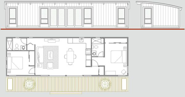 Maxwell 16x50 2bd 2bth 91k wld nd fndtion swr wtr prmts for 16x50 house plans