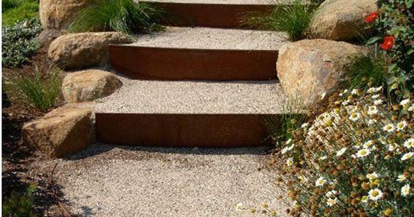 Best Corten Steel Steps Treppen Stairs Escaleras Repinned By 400 x 300