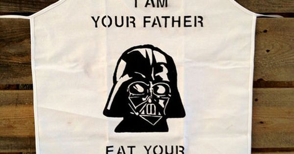 funny star wars apron