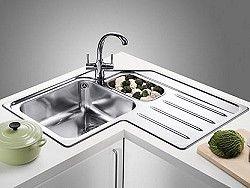 Stainless Corner Sink 2 Jpg 250 188 Corner Sink Kitchen Corner Sink Corner Kitchen Cabinet