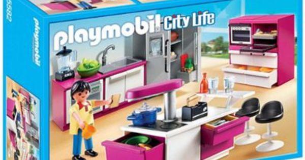 Playmobil City Life Modern Designer Kitchen Playmobil American Style Fridge Freezer Kitchen Design