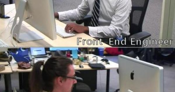 Frontend Vs Backend Engineer It Amp Programming Humour
