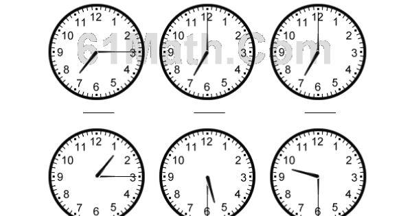 telling time worksheets telling time to the quarter hour. Black Bedroom Furniture Sets. Home Design Ideas
