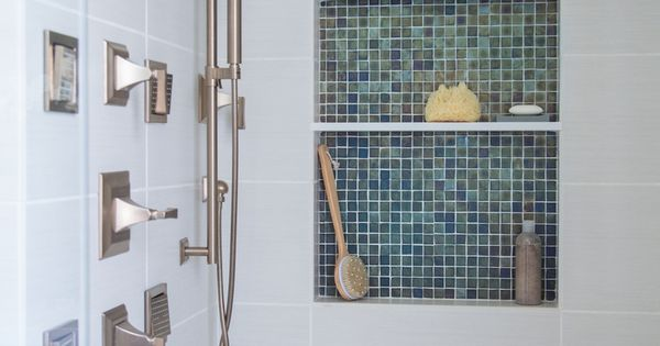11 Spectacular Shampoo Niches To Inspire The Design Of Your Own Master Bathrooms