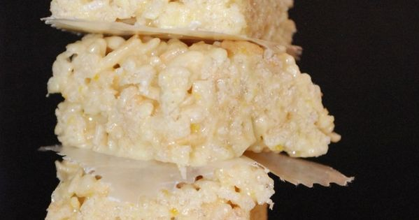 Lemon Rice Krispie Treats - Don't make these unless you are prepared
