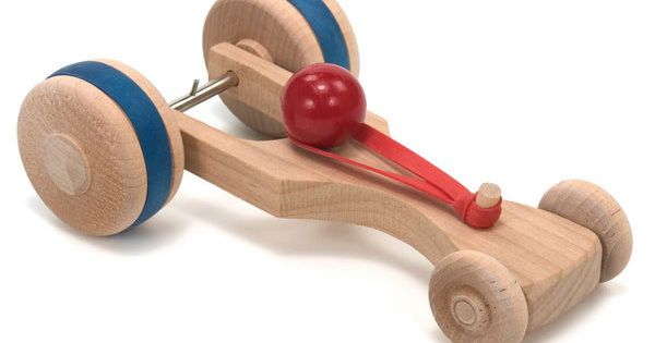 Rubberband Racer Wooden Car Rubber Bands And Children S