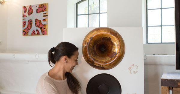 Romi Greub and the loudspeaker designer by her !   Lautsprecher...loudspeakers   Pinterest ...