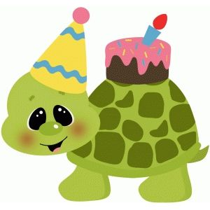 Birthday Turtle W Cake With Images Turtle Art Kids