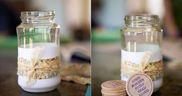 DIY: mommy's jar... fun idea.