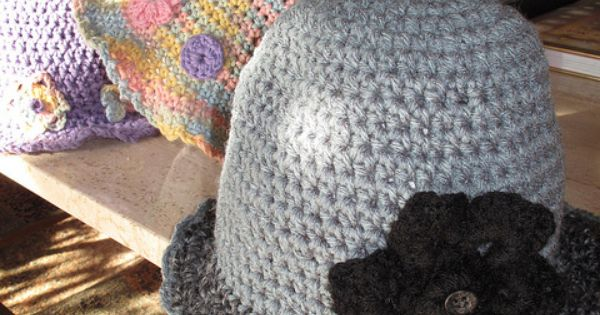 Crochet Patterns To Donate : Half Double Crochet Cloche Hat - would make a good chemo hat to donate ...