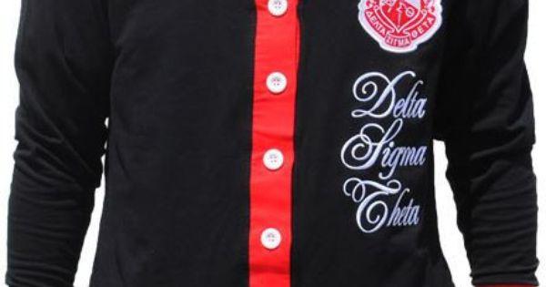 Delta sigma theta cardigan sweater black it 39 s a - Delta sigma theta sorority cardigans ...