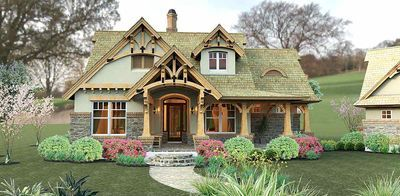 Plan 16812wg Rustic Look With Detached Garage Craftsman Style House Plans Craftsman House Plans Craftsman House