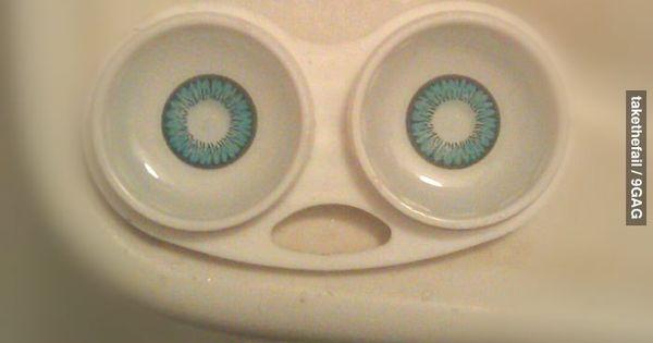 I've seen things... terrible things...contact lense humor