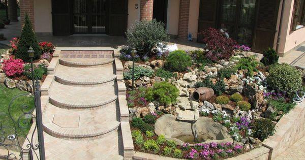 7 ideas para dise ar un jard n delantero fabuloso flor - Disenar un jardin rustico ...