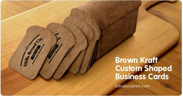 Custom Shaped Business Cards That Look And Feel Cool