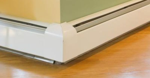 How To Clean An Electric Wall Baseboard Heater Baseboard Heater Baseboard Heating Baseboard Styles