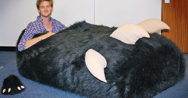 A man who ordered a special slipper to fit his oversized foot
