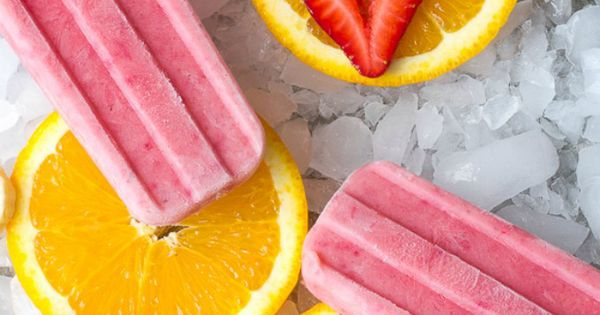Fruit Smoothie Popsicles | Recipe | Popsicles, Smoothies and Orange ...