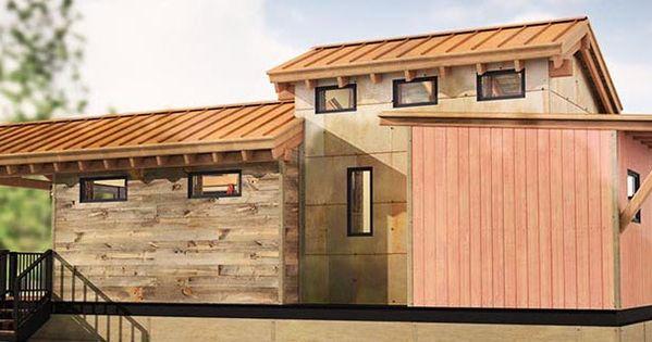Fachadas y planos de casas peque as econ micas y de r pida Disenos de casas economicas
