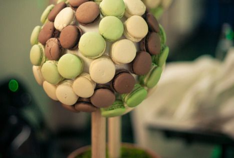 Id es originales de dessert de mariage arbre macarons piece montee wedding inspirations - Photos de pieces montees originales ...