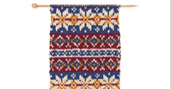 Fair Isle Knitting Tips : The very easy guide to fair isle knitting step by