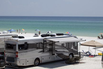 Top Waterfront Rv Campgrounds Camp Gulf Holiday Travel Park Florida Camping Destinations Beach Camping Camping Locations