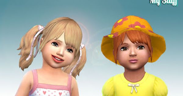 My Stuff Rival Hairstyle For Toddlers Sims 4 Pinterest Sims Ts4 Cc And Sims Cc