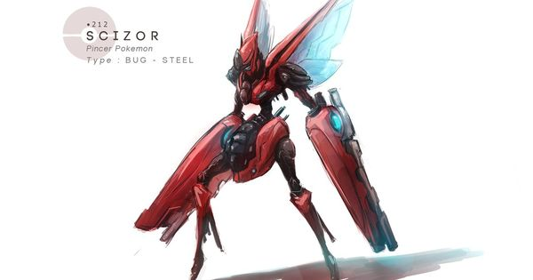 Scizor In Real Life Pretty Badass Pokemon Scizor Realistic Anime Toonusa Creepy Pok 233 Mon