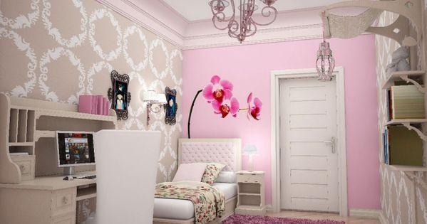 Habitaciones con estilo habitaci n juvenil para espacios - Ideas decoracion habitacion juvenil ...