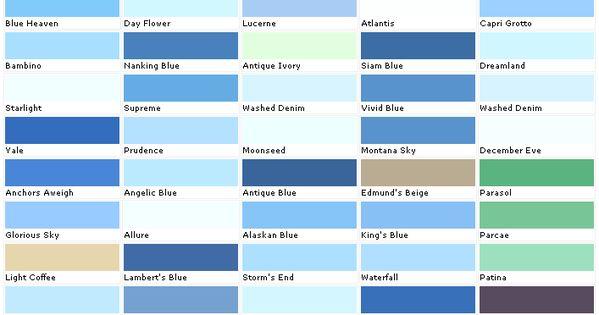 Beautiful Paint Colors Blue 5 Light Blue Paint Color