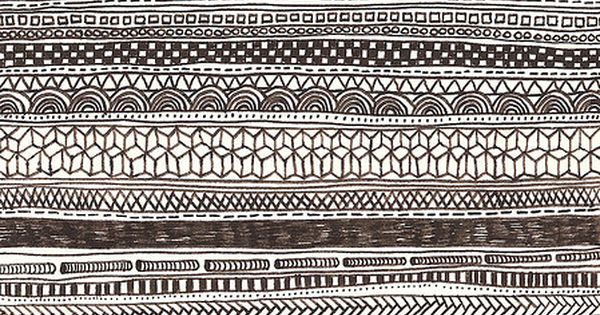 :: black and white monochrome line drawing patterns