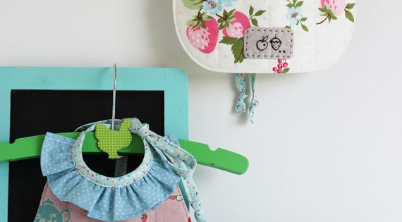 Ruffled bibs! How adorable! Nana Company upcoming book. What a perfect baby