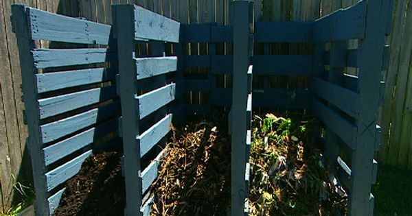 Build a compost bin with pallets better homes and Yahoo better homes and gardens