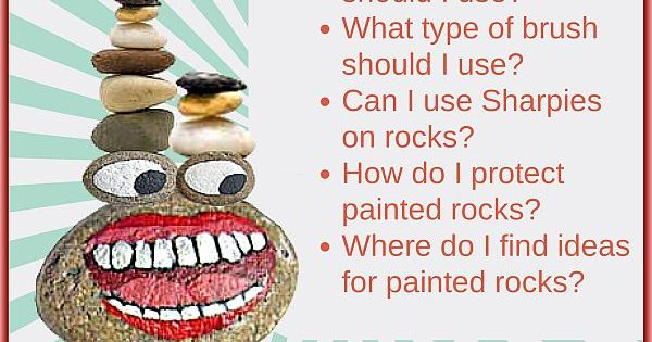 Rock painting tips for beginners where to find rocks - Where to buy rocks to paint ...