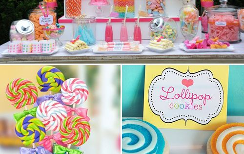 Sweet Candy Theme Party Idea candyland sweetshoppe party ideas
