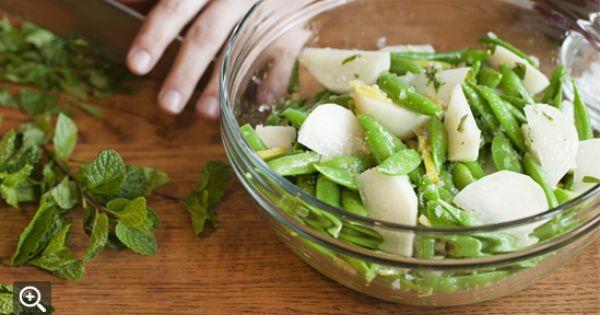 Snap peas, Preserved lemons and Mint on Pinterest