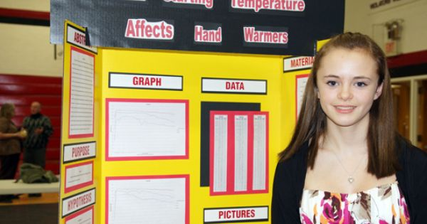 Deserrae Potts Had The Top 9th Grade Project At The 2013 Tvls