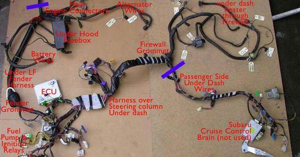 subaru wiring harness bugaru conversion subaru