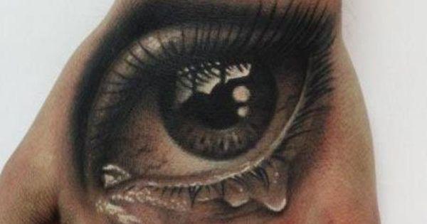 Eye Tattoo On Hand Tattoo Body Art 3d Tattoos At Repinned Net