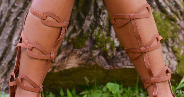 See You Later Gladiator Sandal - Tan from Closet Candy Boutique