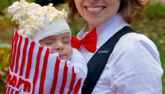 fasching ideen karneval kost me baby popcorn verkleidung fasching pinterest fasching. Black Bedroom Furniture Sets. Home Design Ideas